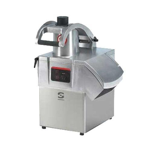 Sammic CA-311MX Countertop Food Processor with Dicing Grid, Slicing Disc and Shredding Disc - 1-1/2 HP