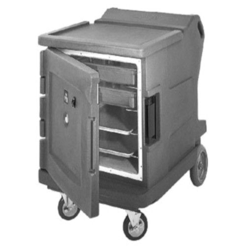 Cambro CMBHC1826LC191 Electric Low Profile Camtherm Hot/Cold Cart (Celsius) (Granite Gray)