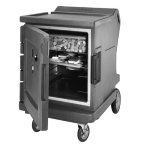Cambro CMBHC1826LF191 Electric Low Profile Camtherm Hot/Cold Cart (Fahrenheit) (Granite Gray)