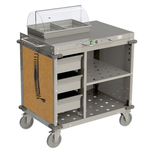 Cadco CBC-SDCX-L1 Small Mobile Demo/Sampling Cart