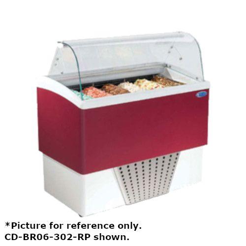 Stoelting CD-BR06-37-WP Italproget Brio Gelato Display Cabinet