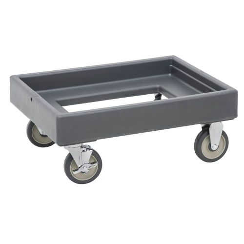 Cambro CD300615 350 lb Load Capacity Camdolly (Charcoal Gray)