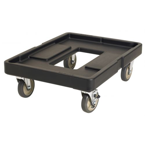 Cambro CD400110 300 lb Load Capacity Camdolly (Black)