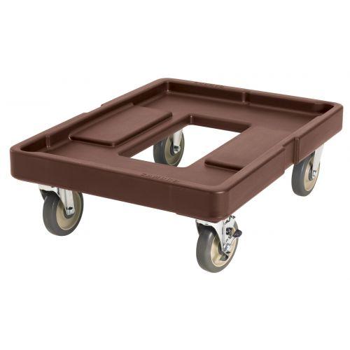Cambro CD400131 300 lb Load Capacity Camdolly (Dark Brown)