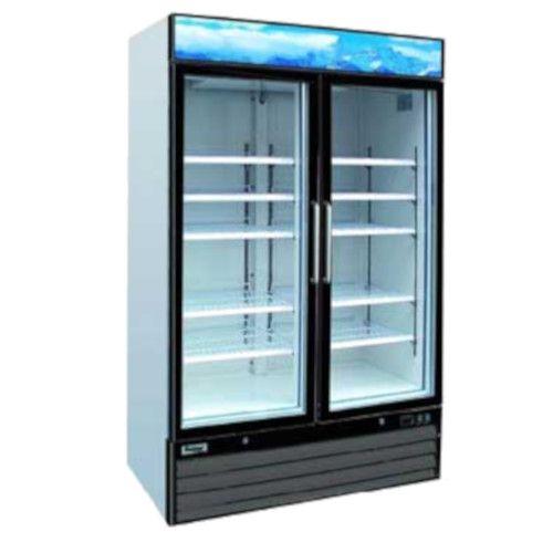 Centaur CGD-2DR-48 Plus™ Two-Section Refrigerator Merchandiser