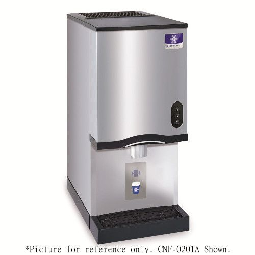 Manitowoc CNF-0201A-L Countertop Nugget Style Air-Cooled Ice Maker and Water Dispenser