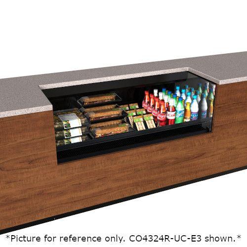 Structural Concepts CO5324R-UC-E3 Self-Service Refrigerated Undercounter Case