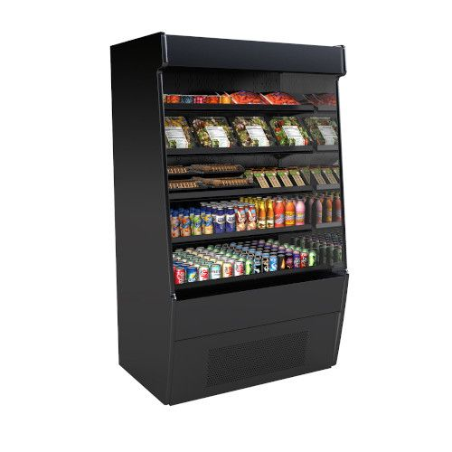 Structural Concepts CO47R-E3 Self-Service Refrigerated Open Air Screen Case