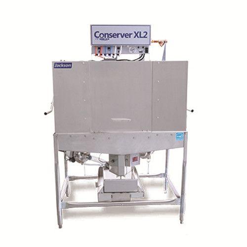 Jackson Conserver XL2C Low Temperature Door Type Conserver Dish Machine - Corner Operation - 115V