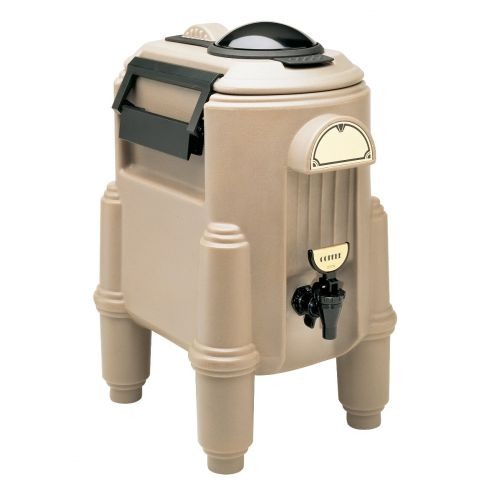 Cambro CSR3417 Camserver 3 Gallon Capacity Beverage Dispenser (Dark Taupe)