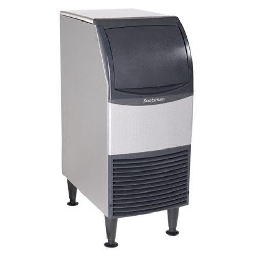 Scotsman CU0715MA-1 Essential Ice 80-lb Production Medium Cube Ice Maker With Bin