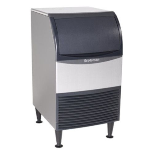 Scotsman CU0920MA-6 Self-Contained Air-Cooled Cube-Style Essential Ice Machine with Bin - 100 lb.