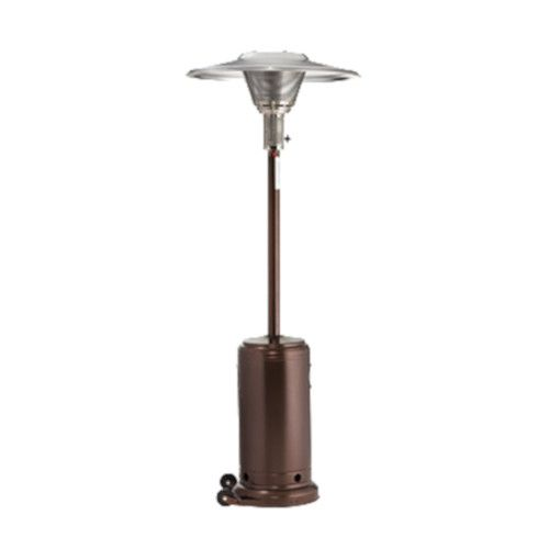 Crown Verity CV-2650-AB Portable Propane Patio Heater with Antique Bronze Finish
