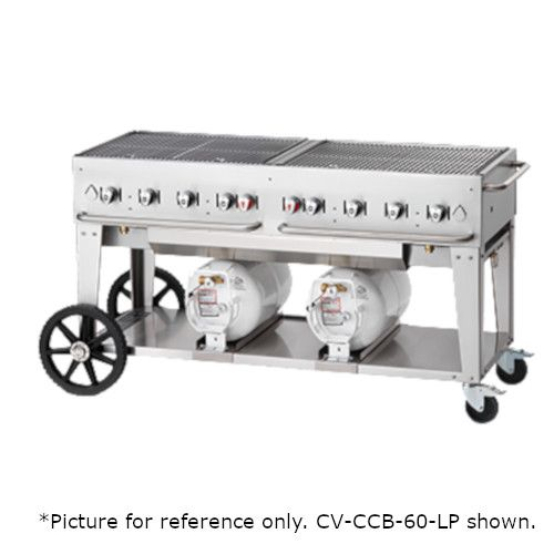 Crown Verity CV-CCB-48-LP LP Gas Club Series Outdoor Grill