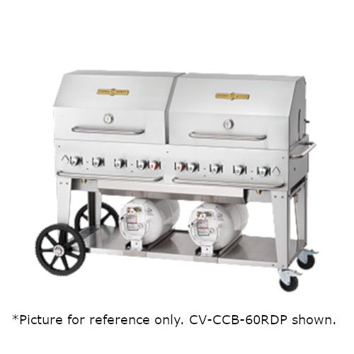 Crown Verity CV-CCB-48RDP LP Gas Club Series Outdoor Grill