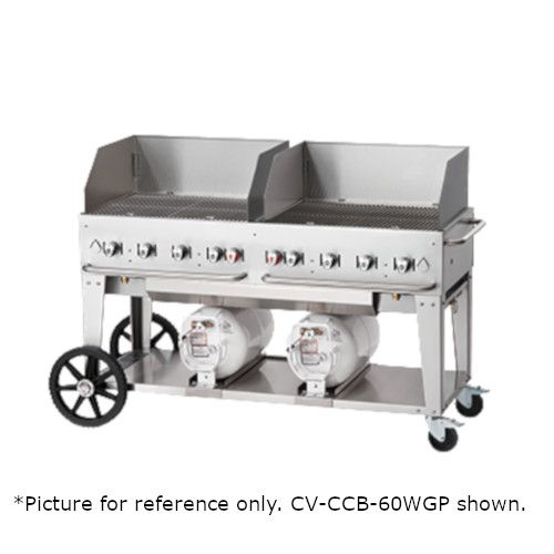 Crown Verity CV-CCB-48WGP LP Gas Club Series Outdoor Grill with 30
