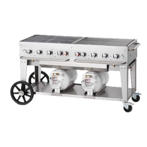 Crown Verity CV-CCB-60-LP LP Gas Club Series Outdoor Grill
