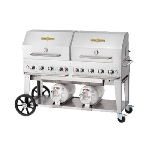 Crown Verity CV-CCB-60RDP LP Gas Club Series Outdoor Grill