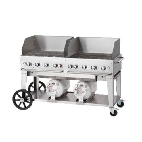 Crown Verity CV-CCB-60WGP LP Gas Club Series Outdoor Grill with 30