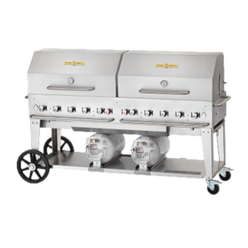 Crown Verity CV-CCB-72RDP LP Gas Club Series Outdoor Grill