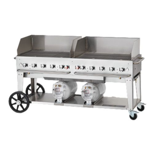 Crown Verity CV-CCB-72WGP LP Gas Club Series Outdoor Grill with 30