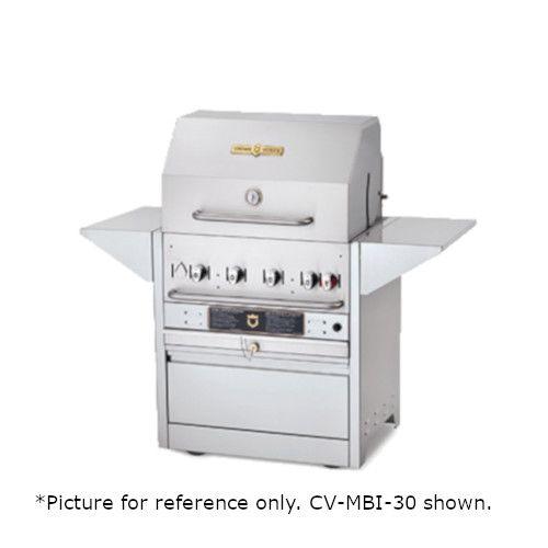 Crown Verity CV-MBI-48-2-NG Natural Gas Hotel Series Outdoor Grill