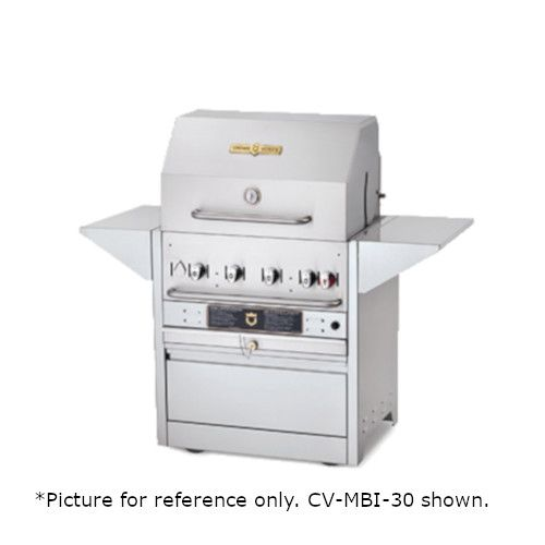 Crown Verity CV-MBI-48-NG Natural Gas Hotel Series Outdoor Grill