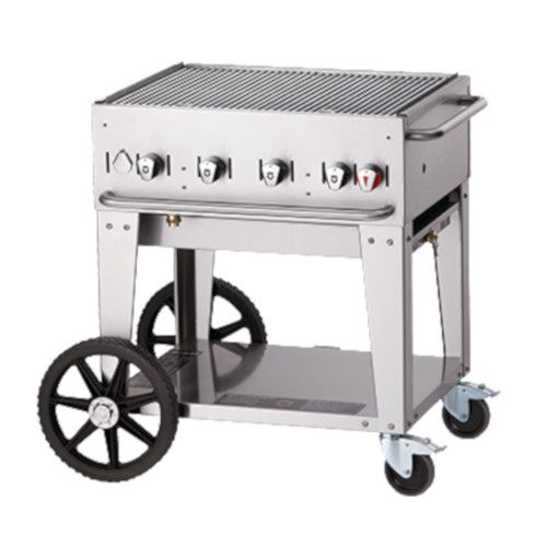 Crown Verity CV-MCB-30NG Natural Gas Mobile Outdoor Grill