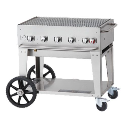 Crown Verity CV-MCB-36NG Natural Gas Mobile Outdoor Grill