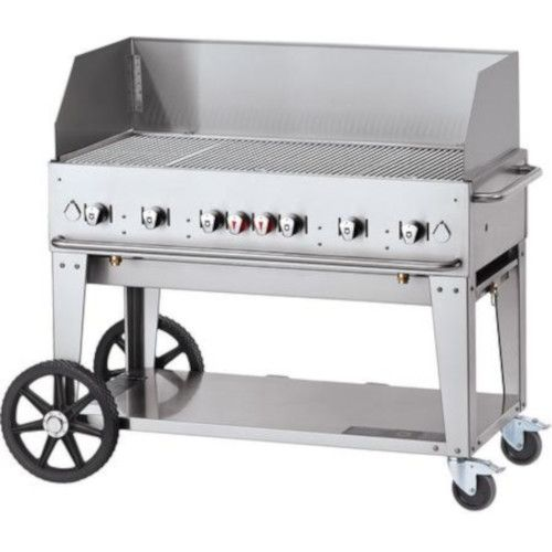 Crown Verity CV-MCB-36WGP-NG 5-Burner Natural Gas Mobile Outdoor Grill