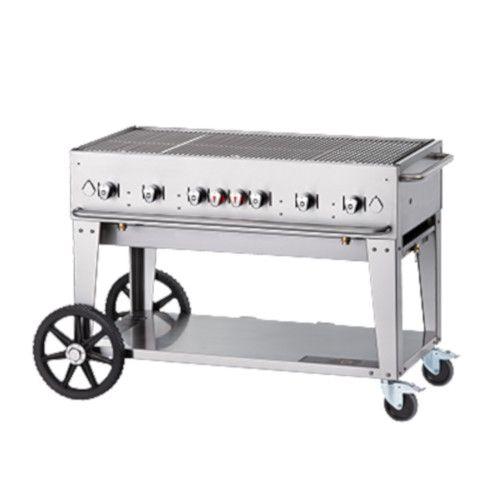 Crown Verity CV-MCB-48LP LP Gas Mobile Outdoor Grill