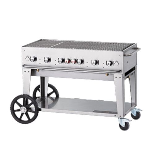 Crown Verity CV-MCB-48NG Natural Gas Mobile Outdoor Grill
