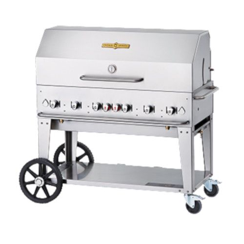 Crown Verity CV-MCB-48RDP-NG Gas Mobile Outdoor Grill