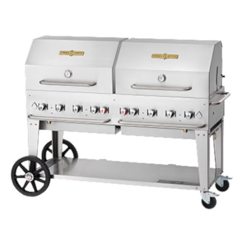 Crown Verity CV-MCB-60RDP-NG Gas Mobile Outdoor Grill