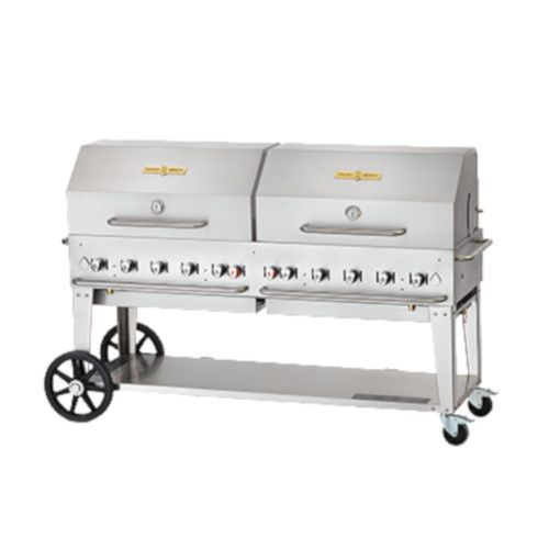 Crown Verity CV-MCB-72RDP-NG Gas Mobile Outdoor Grill