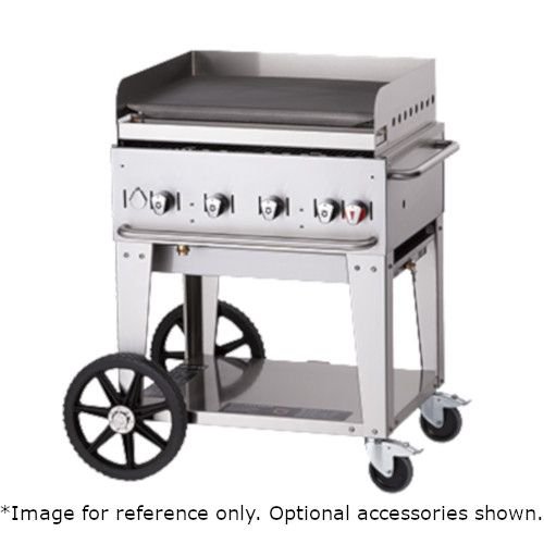 Crown Verity CV-MG-36LP 5-Burner Mobile Outdoor Griddle