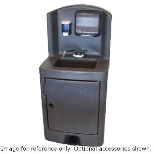 Crown Verity CV-PHS-5 Hot and Cold Water Portable Hand Sink