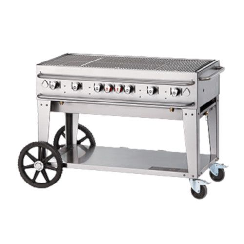 Crown Verity CV-RCB-48-LP 6-Burner Pro Series Outdoor Grill
