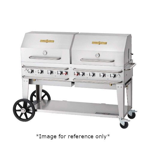 Crown Verity CV-RCB-60-1RDP-SI-BULK LP Pro Series Outdoor Grill