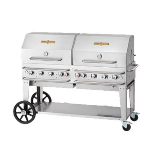 Crown Verity CV-RCB-60RDP-LP 8-Burner Pro Series Outdoor Grill