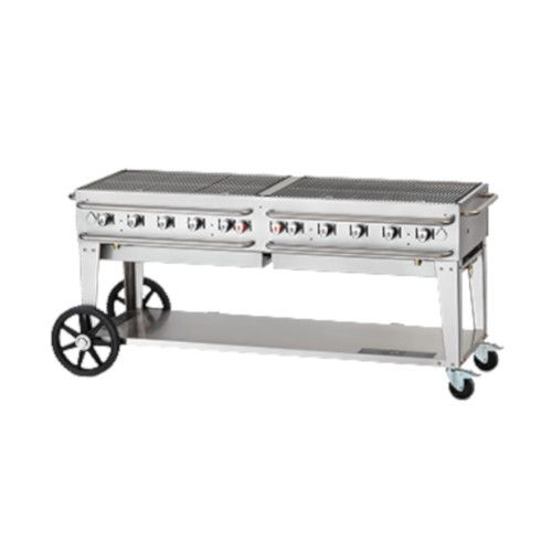 Crown Verity CV-RCB-72-LP 10-Burner Pro Series Outdoor Grill