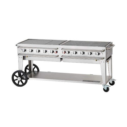 Crown Verity CV-RCB-72-SI50/100 LP Pro Series Outdoor Grill