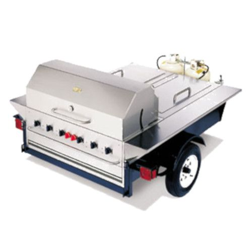 Crown Verity CV-TG-1 Towable Outdoor Grill