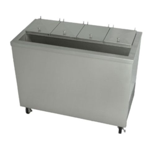 Stoelting DC4T-37R Air Cooled Dipping Cabinet with Syrup Rail