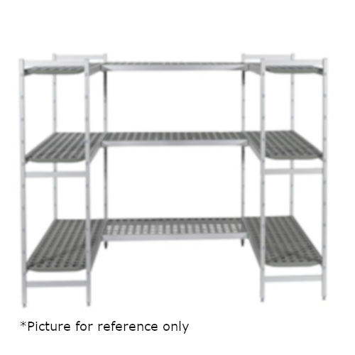Fermod DOUG14-10 Custom Walk-In Cooler Shelving Kit for 12' x 10' Walk-In
