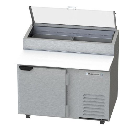 Beverage Air DP46-CL One Section Pizza Prep Table