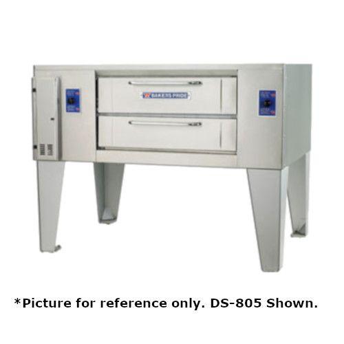 Bakers Pride DS-990 Super Deck Liquid Propane Double Deck Gas Pizza Oven