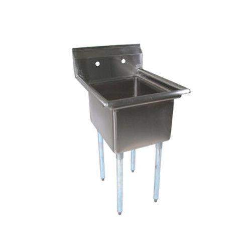 John Boos E1S8-1620-12 One-Compartment E-Series Sink