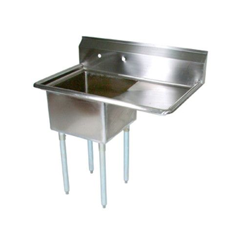 John Boos E1S8-1824-14R24 One-Compartment E-Series Sink with 24