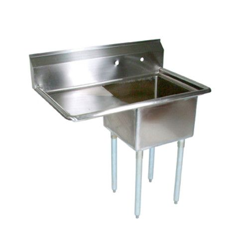 John Boos E1S8-18-12L18 One-Compartment E-Series Sink with 18